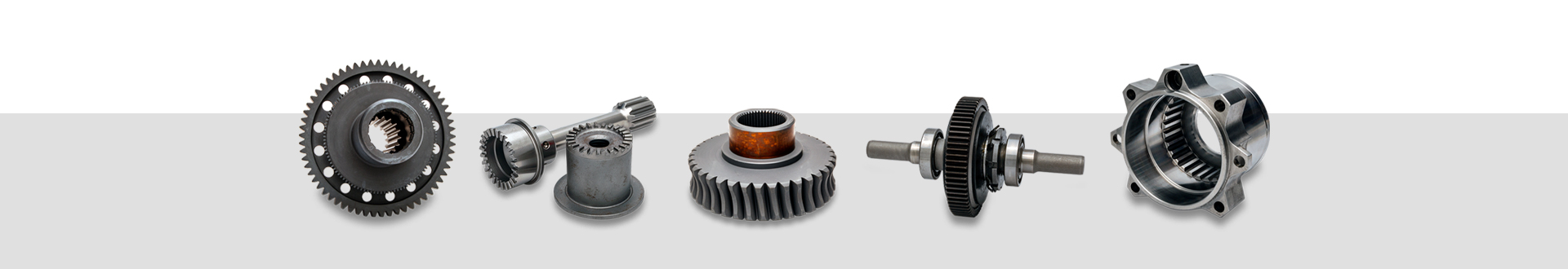 precision machined parts with gears