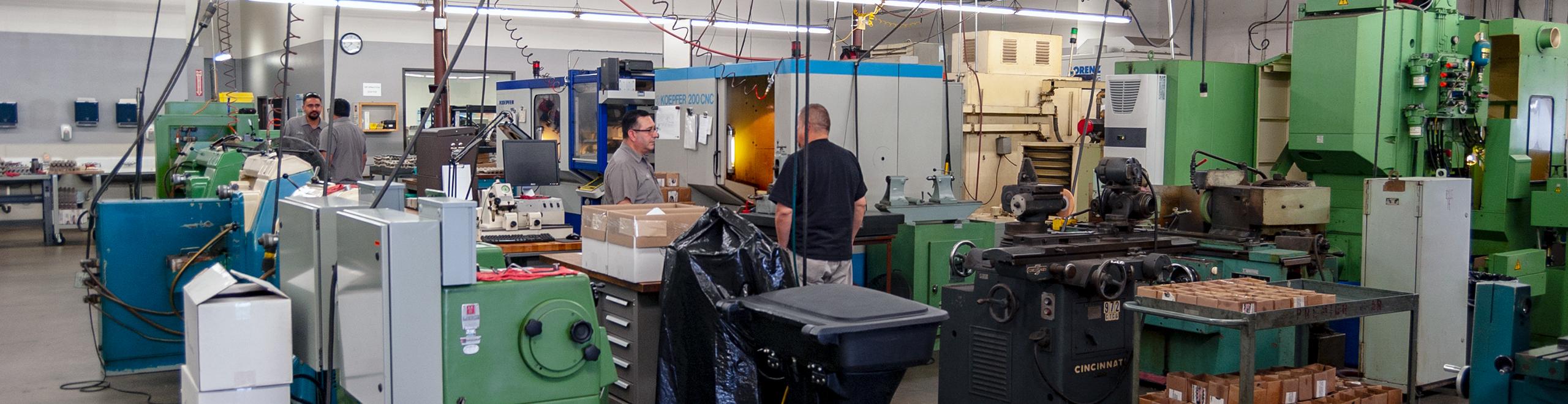 premier gear shop floor